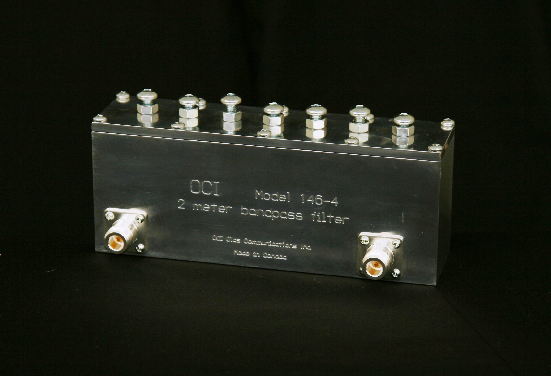 OCI Model 146-4 2 meter bandpass filter picture